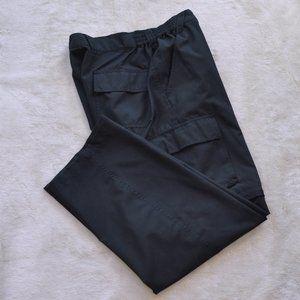 ProSpirit zip-off cargo style black pants L.